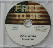 Free to Be BluRay