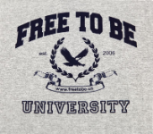 Free to Be University T-Shirt
